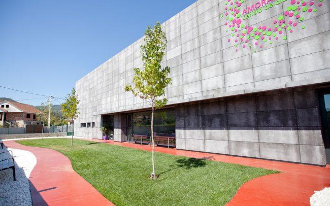 Centro de día, proyectado por nam arquitectos, estudio de arquitectura y urbanismo domiciliado en la ciudad de Tui.