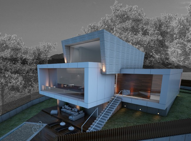 Vivienda Unifamiliar Contemporánea diseñada por nam arquitectos Tui.