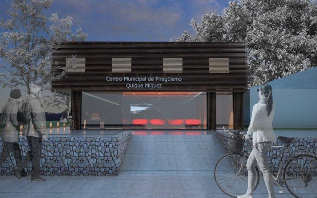Anteproyecto para el Centro Municipal Piragüismo y Kayak Tui.