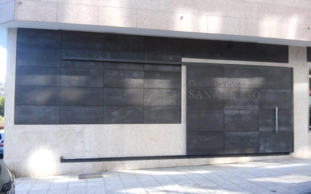 Reforma de Fisiterapia San Lázaro - Fragoso