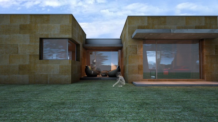 Vivienda unifamiliar en Tui. Nam arquitectos.