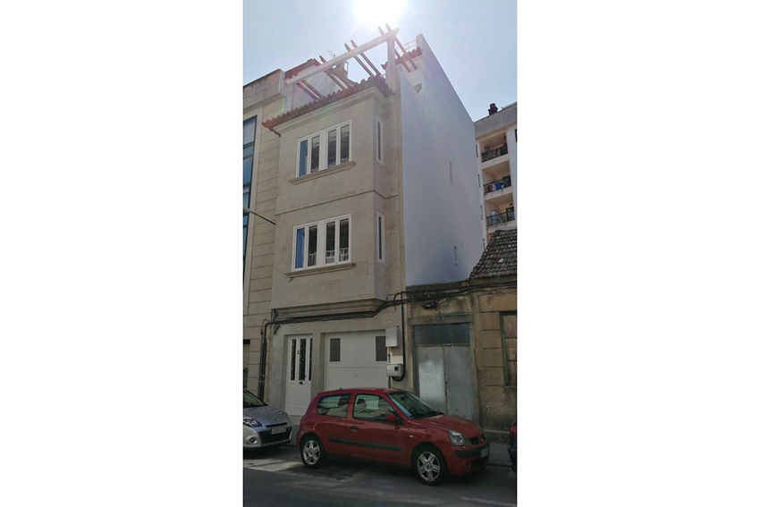 Rehabilitación integral edificio en Vigo.