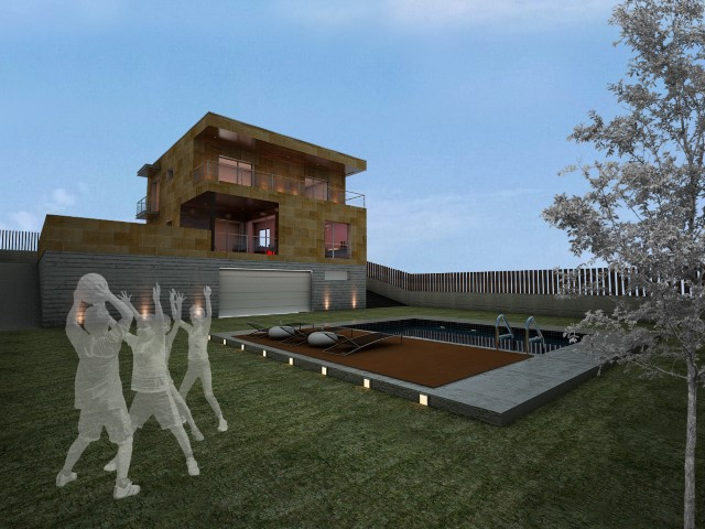 Vivienda unifamiliar en vigo nam arquitectos slp - Arquitectos vigo ...