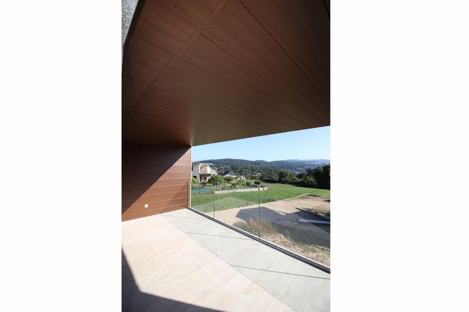 Vivienda Unifamiliar en Vigo diseñada por nam arquitectos. Estudio de arquitectura. Proyecto vivienda.
