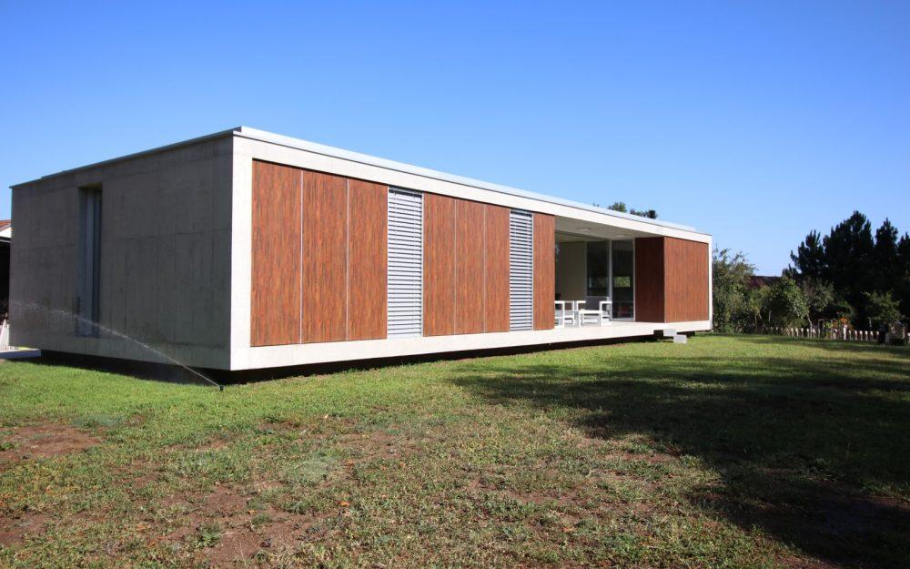 Vivienda unifamiliar contemporánea y minimalista Tomiño. Arquitecto.