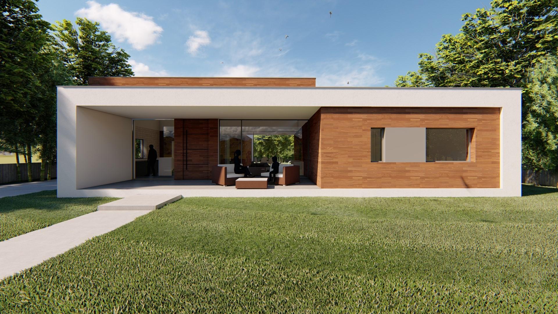 Vivienda unifamiliar Tui. Arquitecto. Arquitectura.