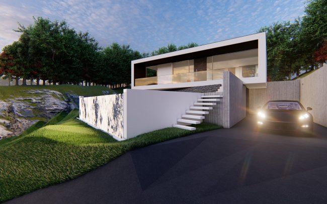 Vivienda contemporánea en Tui. Arquitecto en Tui.